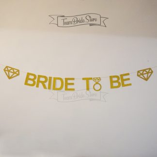 Банер Bride to be с диаманти 5