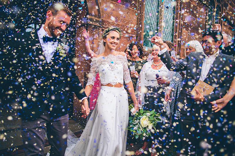 конфети за снимка сватба моминско парти балон