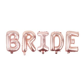 Банер с балони bride за моминско парти
